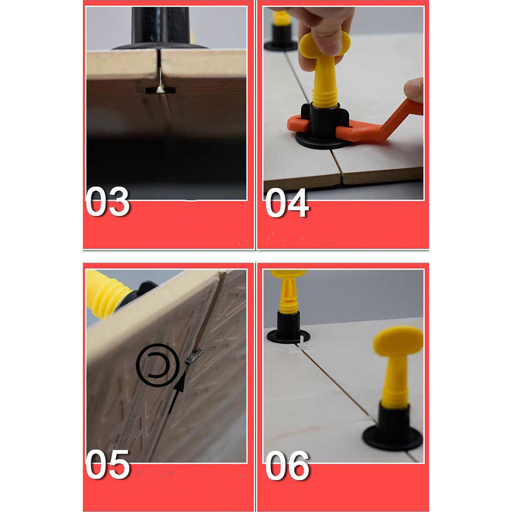 Flooring Wall Tile Leveling System Leveler Locator Spacers Plier Tile Leveling System Construction Tools